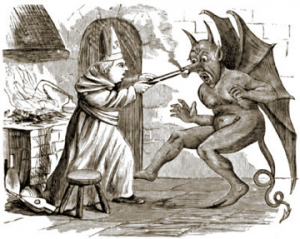 St. Dunstan and the Devil